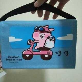 卡娜赫拉書包型手機袋(淺藍)