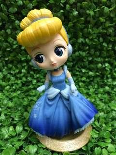 Qposket 美人魚 公仔 公主 擺飾 公主系列 白雪公主 小精靈 長髮公主 貝兒 灰姑娘 茉莉公主 仙度瑞拉