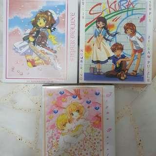 Cardcaptor Sakura Jigsaw Puzzles