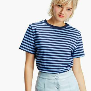 Stradivarius Short Sleeve Striped T-shirt
