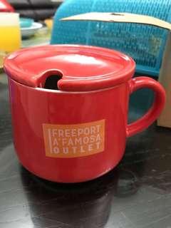 Red xmas mug