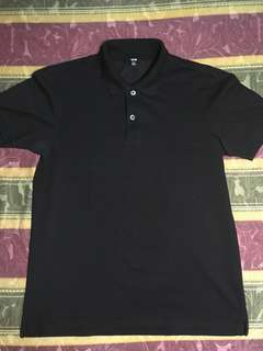 Uniqlo basic polo mens medium