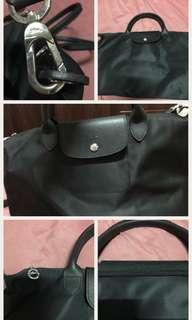 Replica Medium Black Longchamp