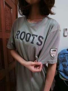 Roots男版上衣 僅試穿