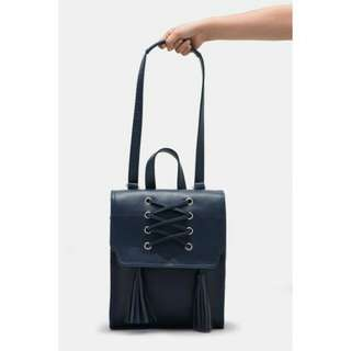 Khalassy navy backpack by adorable project (gratis ongkir)