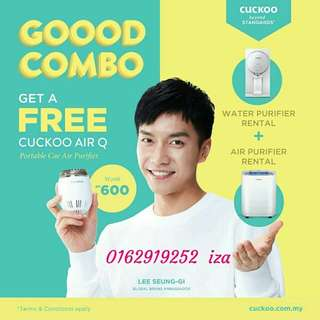 Combo set penapis air