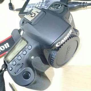 Jual Canon D60 lensa kit 18-135mm