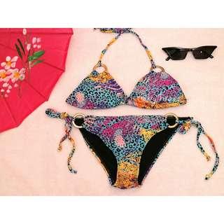 REPRICED. Animal print bikini / swimmies / swimsuit