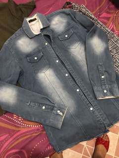 Denim maong jacket