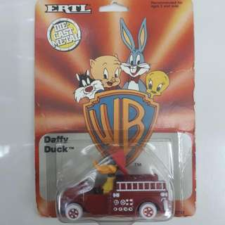 Original Diecast ERTL Daffy Duck Fire Engine