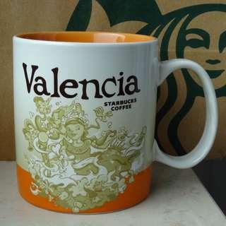 星巴克 城市杯 西班牙 瓦倫西亞