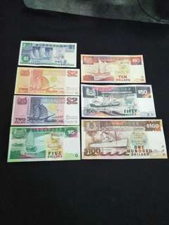7pc of sg old Ship Series 7pc offer $$188