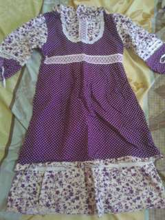 Dress anak umur 5 thn