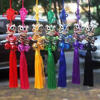Lion dance car accessories