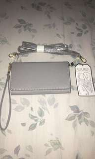 BN Zara phone wallet wristlet cross body bag