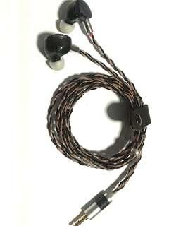 Gorgeous 8 core SPC/Pure Copper Litz Hybrid IEM Upgrade Cable