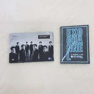 EXO EXOPLANET 2 EXO'LuXion & EXO Channel Dvd