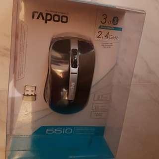 R^poo 6610 Dual Mode Optical Mouse