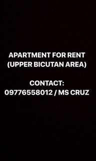 APARTMENT FOR RENT TAGUIG AREA