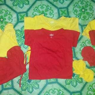 Obi baby clothes set