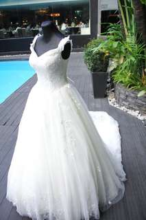 Affordable Wedding Gown (Wore Once)