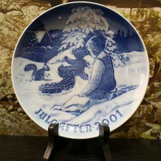 B&g Copenhagen decor plate
