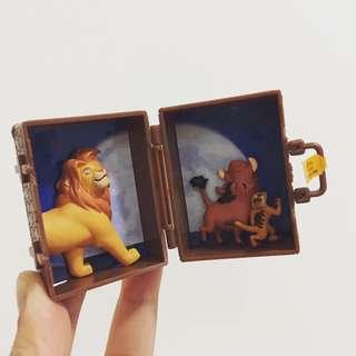 全新 獅子王 行李箱 扭蛋