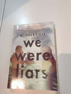 We were liars - story book