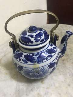 Vintage Siamese teapot early 1980s