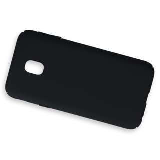 Case Matte Samsung Galaxy C8 Soft Black Anti Minyak
