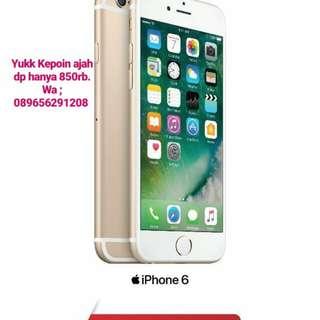 Iphone 6 32gb kredit hanya 3 menit dp hanya 850rb