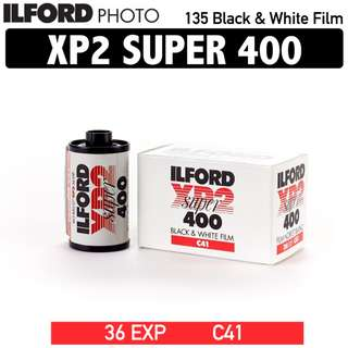 Ilford XP2 SUPER 400 135 35MM Black and White Film