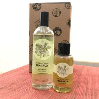 Parfum The Body Shop Moringa Shower Gel
