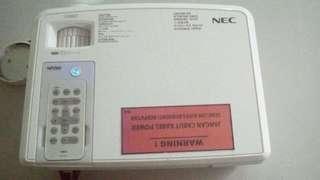 LCD projector merk NEC