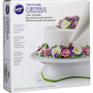 Wilton Trim 'n Turn ULTRA Cake Turntable Rotating Cake Stand