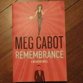 The Mediator: Remembrance by Meg Cabot