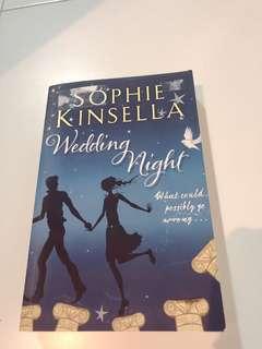 Wedding night - Sophie Kinsella  - Story book