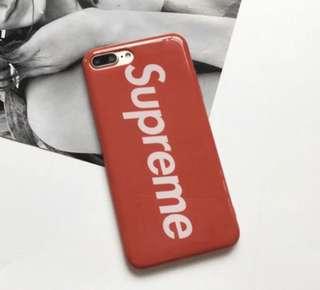 Supreme iPhone 7 Plus case