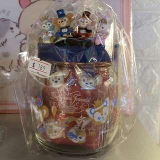 Tokyo disney sea duffy 系列 紅茶包玻璃樽