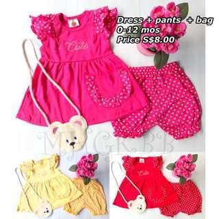 Baby Dress + pants