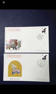 China stamp- 1991 T159 A/B FDC —Final clearance fire sales