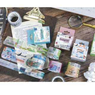 Vintage Collage Washi Tape