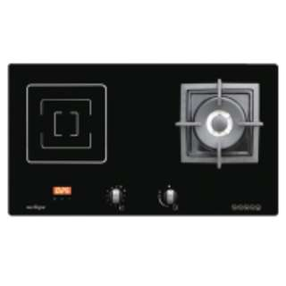 Induction hood and hob package. Induction stove // hood and hob