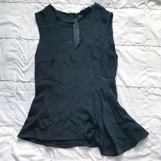 Zara assymetrical top