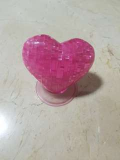 Pink Heart-shaped Display