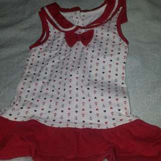 Baby Dress And Blouse