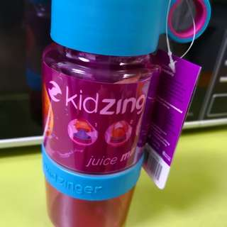 Kid zinger water bottle BPA Free