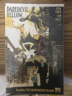 Daredevil: Yellow complete set
