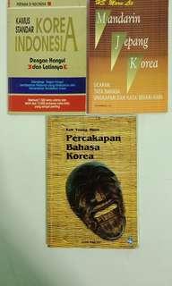 Paket 3 buku tutorial bahasa korea