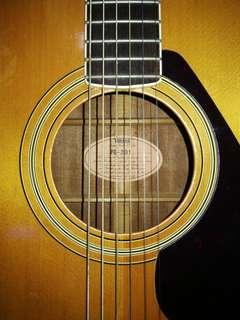 Yamaha FG-201 Vintage Acoustic Guitar
